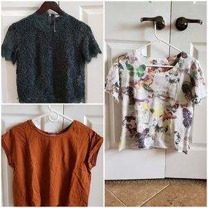 Lot/Bundle of ZARA cute and stylish tops